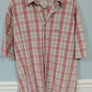 Calvin Klein Jeans s/s button up shirt mens xl